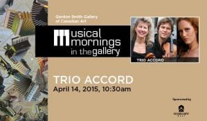 Musical Morning in the Gordon Smith Gallery of Canadian Art
