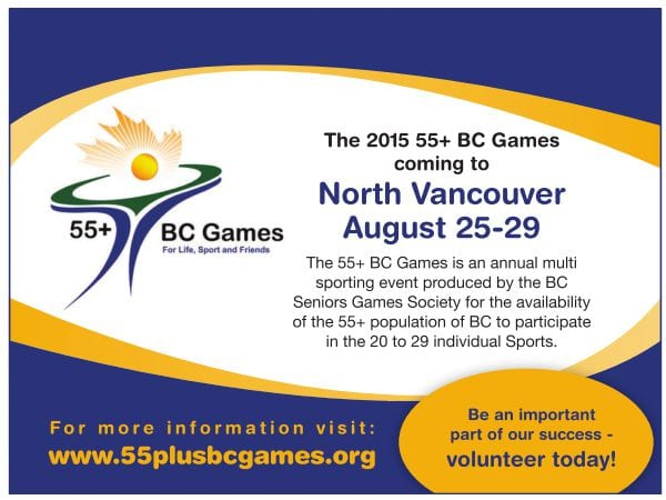 55+ BC Games: Opening Ceremony at the Capilano University Sportsplex