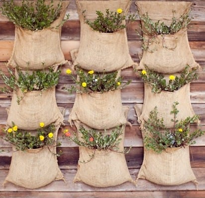Workshop: Garden Upcycling – Make a Burlap Hanging Planter at the North Shore Neighbourhood House