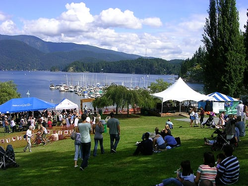 Summer Concerts in Deep Cove at Panorama Park North Vancouver