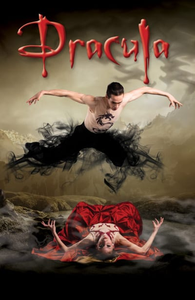Ballet Victoria presents Dracula at the Centennial Theatre North Vancouver
