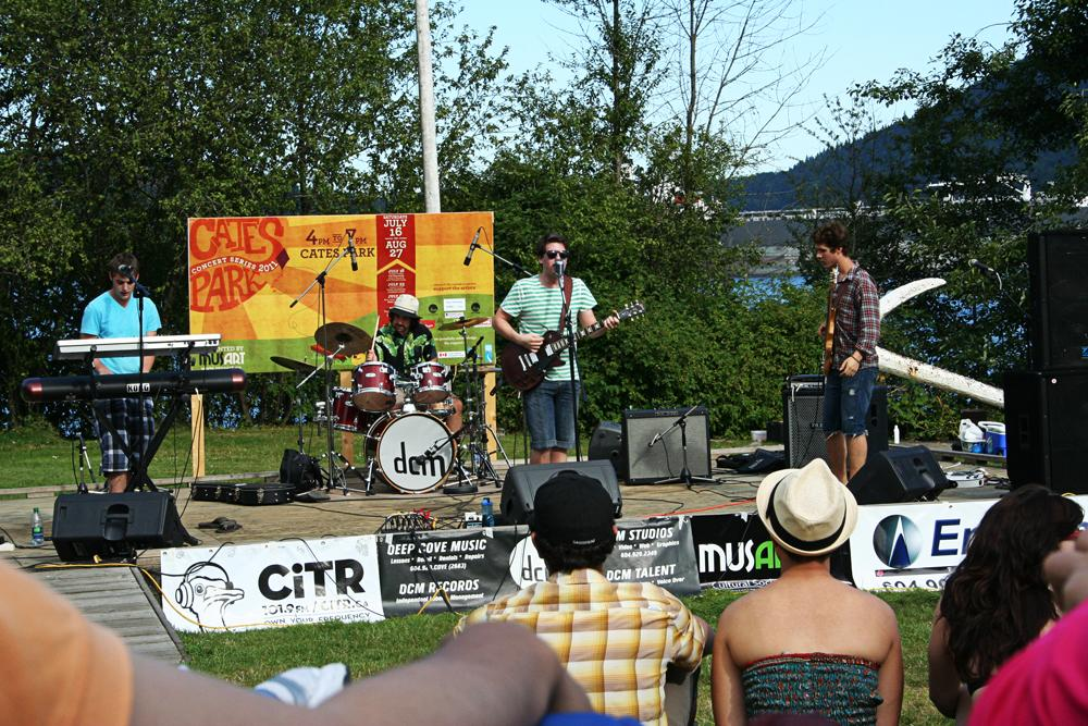 Cates Park Summer Concert Series North Vancouver