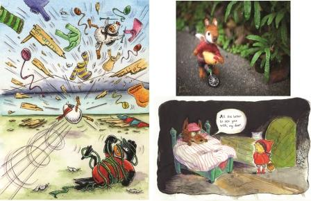 Canada West Illustrators: Cultivating Imagination at the District Library Gallery Lynn Valley