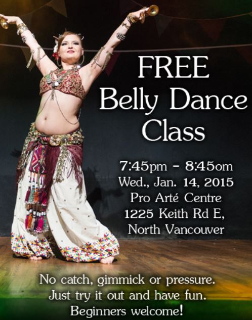 Belly Dance Classes – Fun for Everyone at Pro Arté Dance Centre North Vancouver