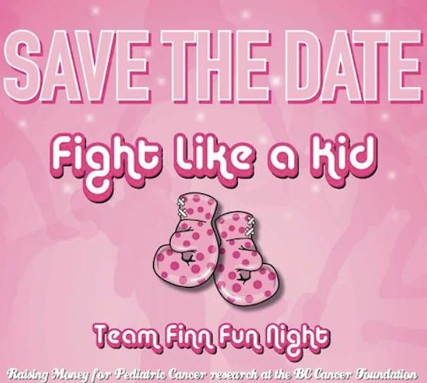 """""""Fight Like a Kid"""" Fundraising Event at Griffins Boxing North Vancouver"""