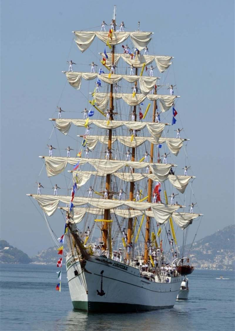Mexican Tall Ship Tours at Burrard Dry Dock Pier North Vancouver