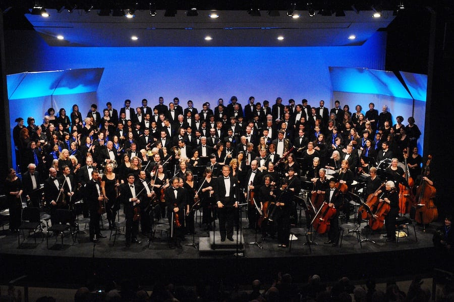 Beethoven's 9th and Orff's Carmina Burana at the Capilano University Theatre