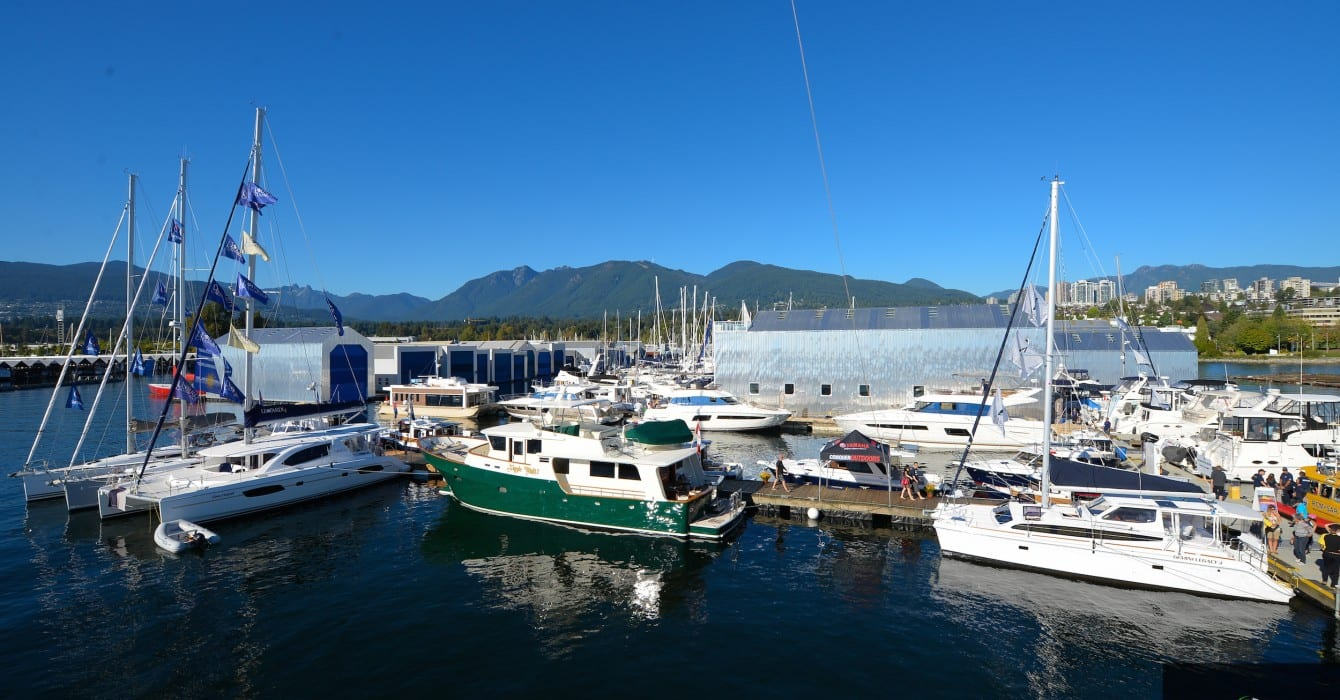 9th Annual Boat Show at the Mosquito Creek Marina North Vancouver