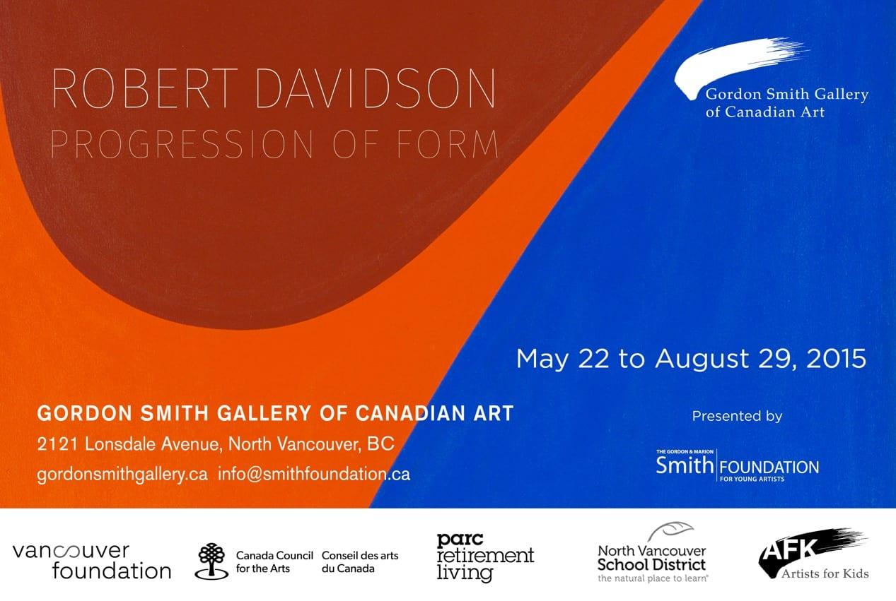 """Robert Davidson: Progression of Form"" Online Fundraising Campaign"