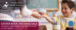 Easter Book and Bake Sale at the North Vancouver City Library