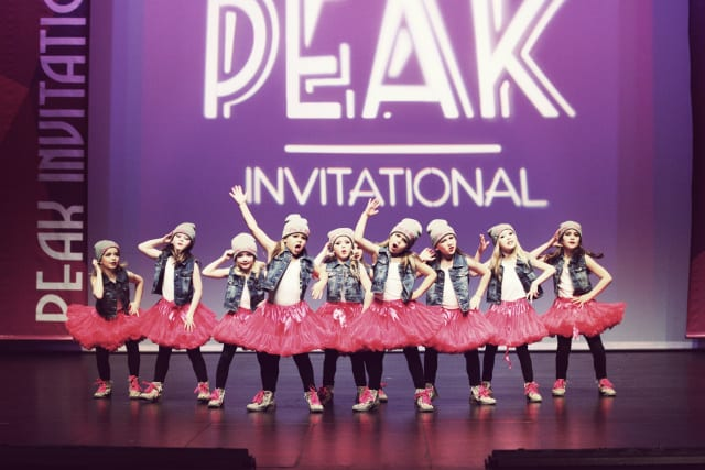 Peak Invitational Dance Competition 2016 at the Centennial Theatre North Vancouver