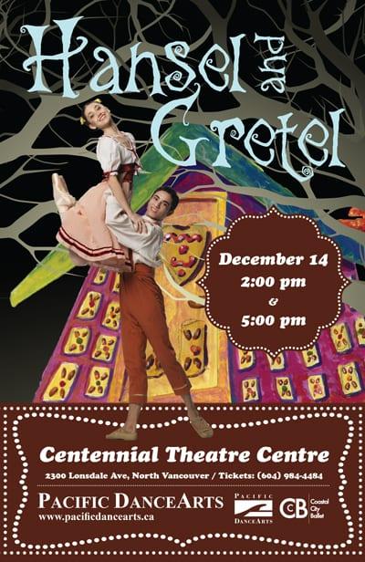 Pacific DanceArts presents Hansel & Gretel at the Centennial Theatre