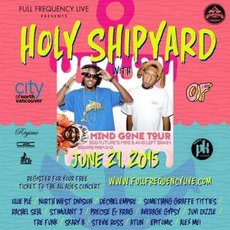 Holy Shipyards at The Pipe Shop at the Shipyards