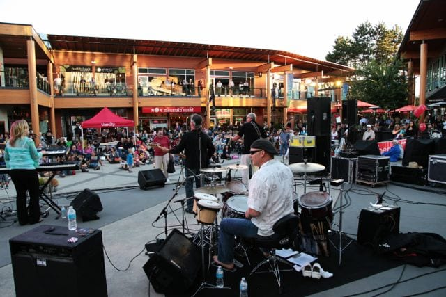 Live in Lynn Valley Village Concerts North Vancouver