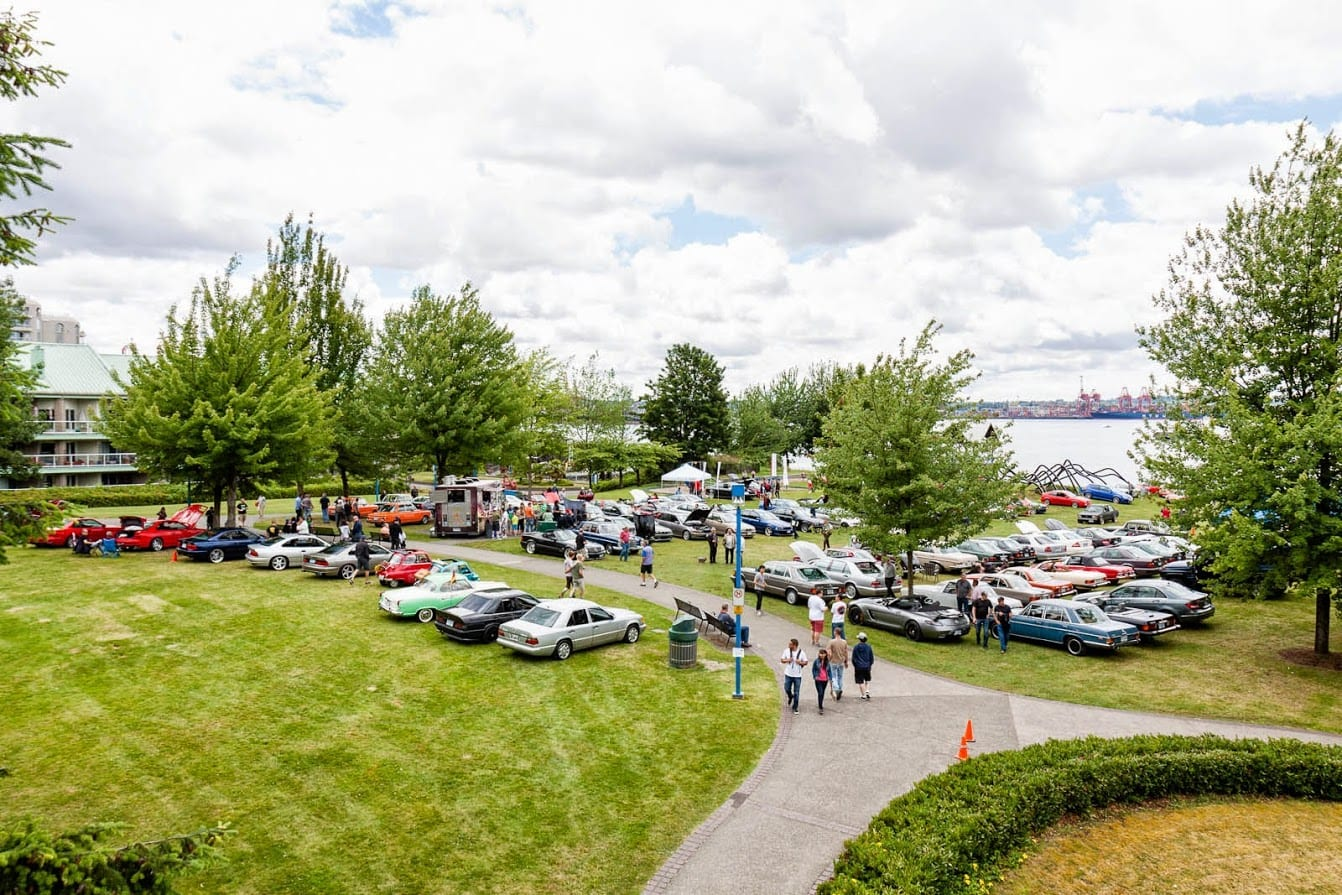 14th Annual German Car Festival at the Waterfront Park North Vancouver