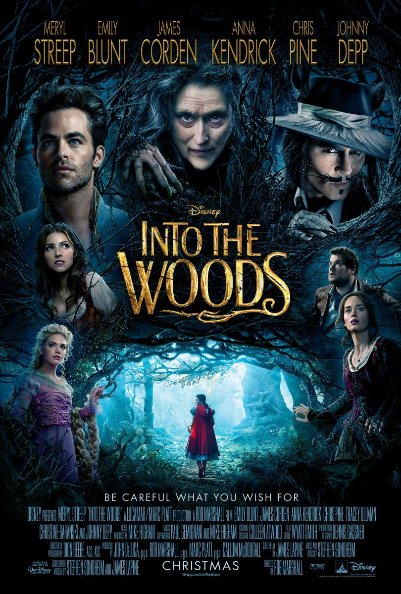 Movie Night in the Civic Plaza North Vancouver – Into the Woods