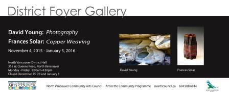 District Foyer Gallery:  David Young and Frances Solar