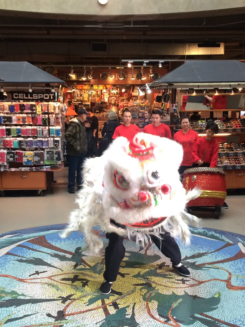 Lunar New Year at the Lonsdale Quay Market North Vancouver