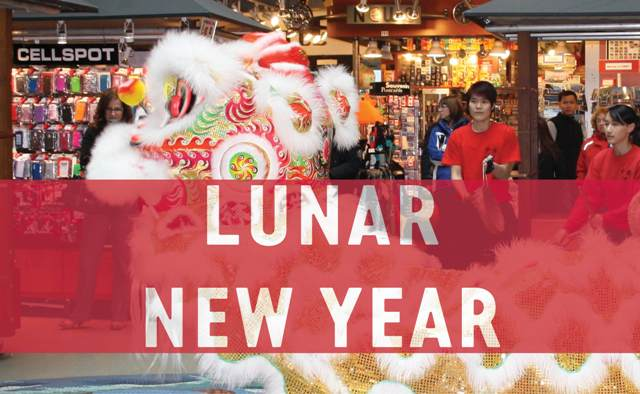 Lunar New Year at Lonsdale Quay Market North Vancouver