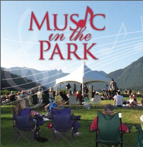 Music in the Park at the Capilano River Regional Park North Vancouver