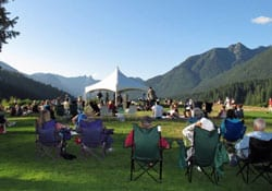 Music in the Park at Cleveland Park North Vancouver