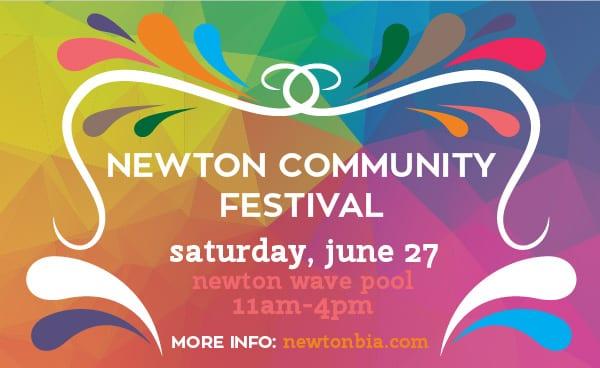 Newton Community Festival at the Newton Wave Pool Surrey