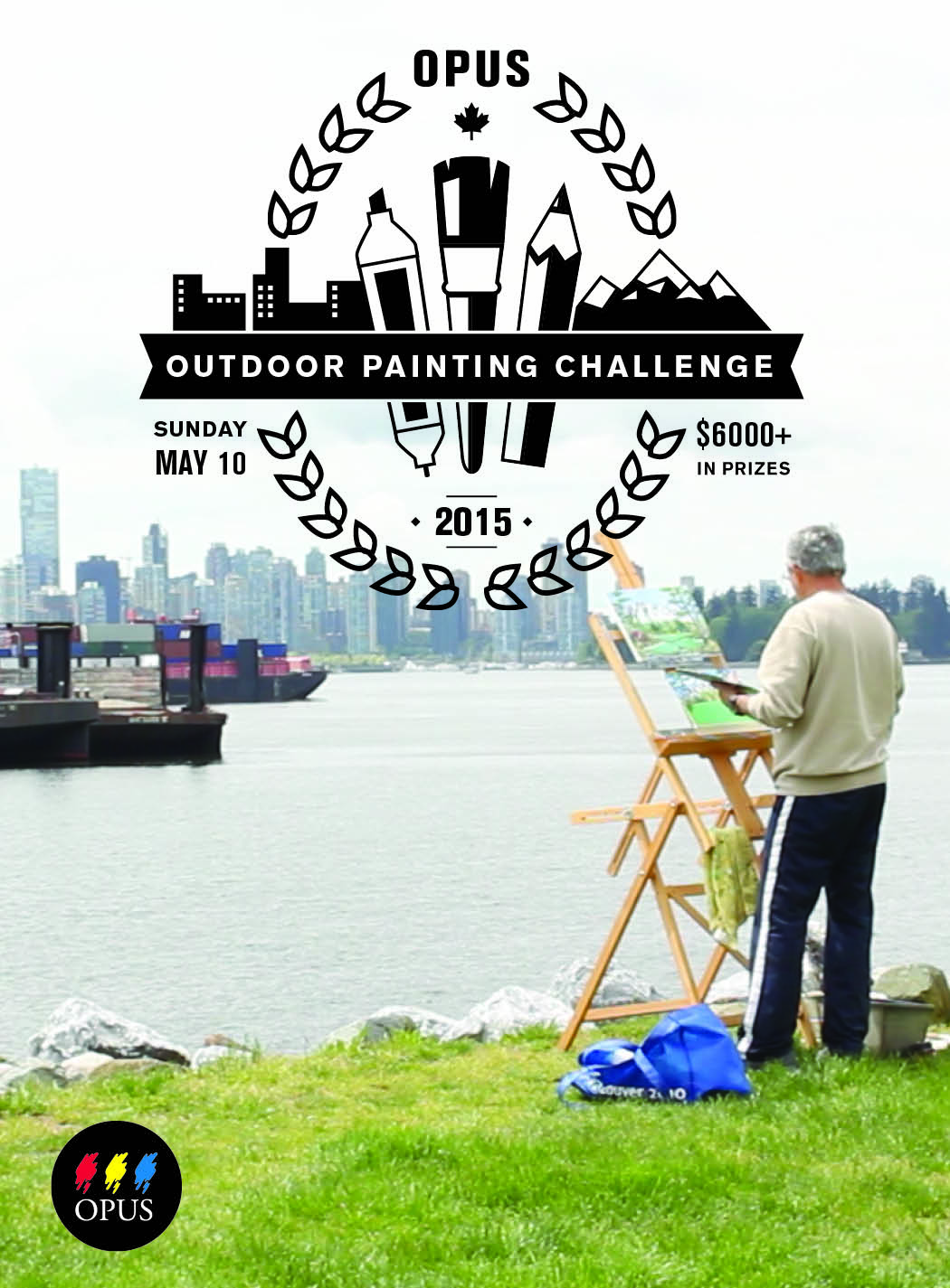 Opus Outdoor Painting Challenge on the North Shore