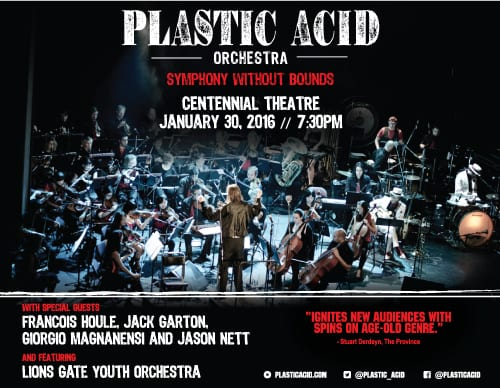 Plastic Acid Orchestra Symphony Without Bounds at the Centennial Theatre