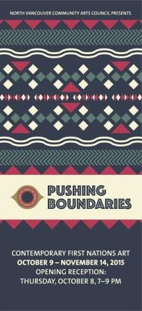 Pushing Boundaries Exhibition at the CityScape Community Art Space