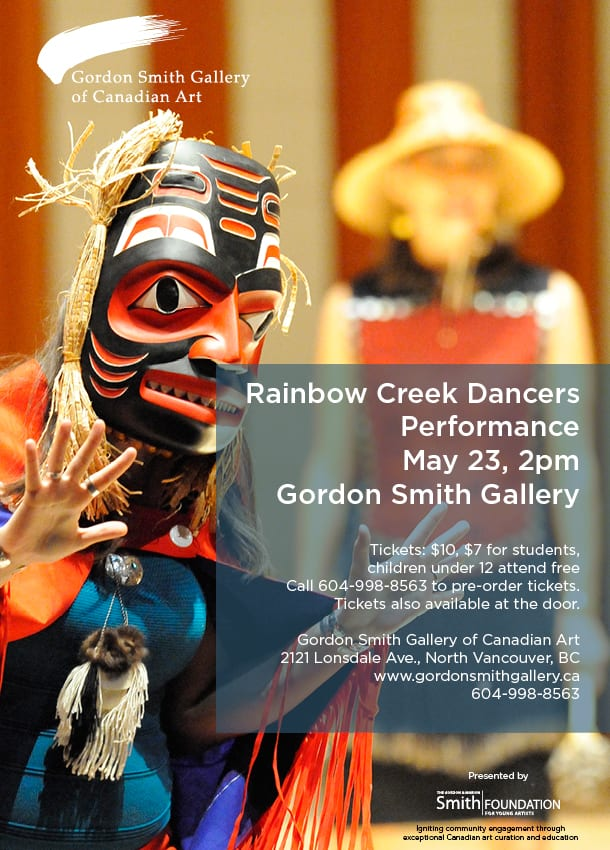 Haida Dance Performance by the Rainbow Creek Dancers