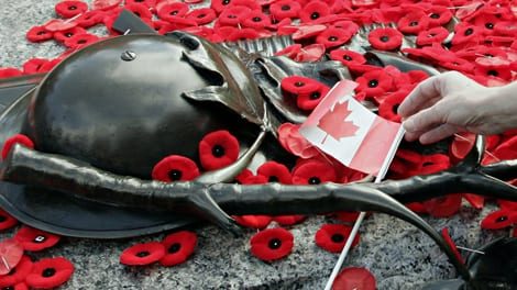 Remembrance Day Ceremony on the North Shore