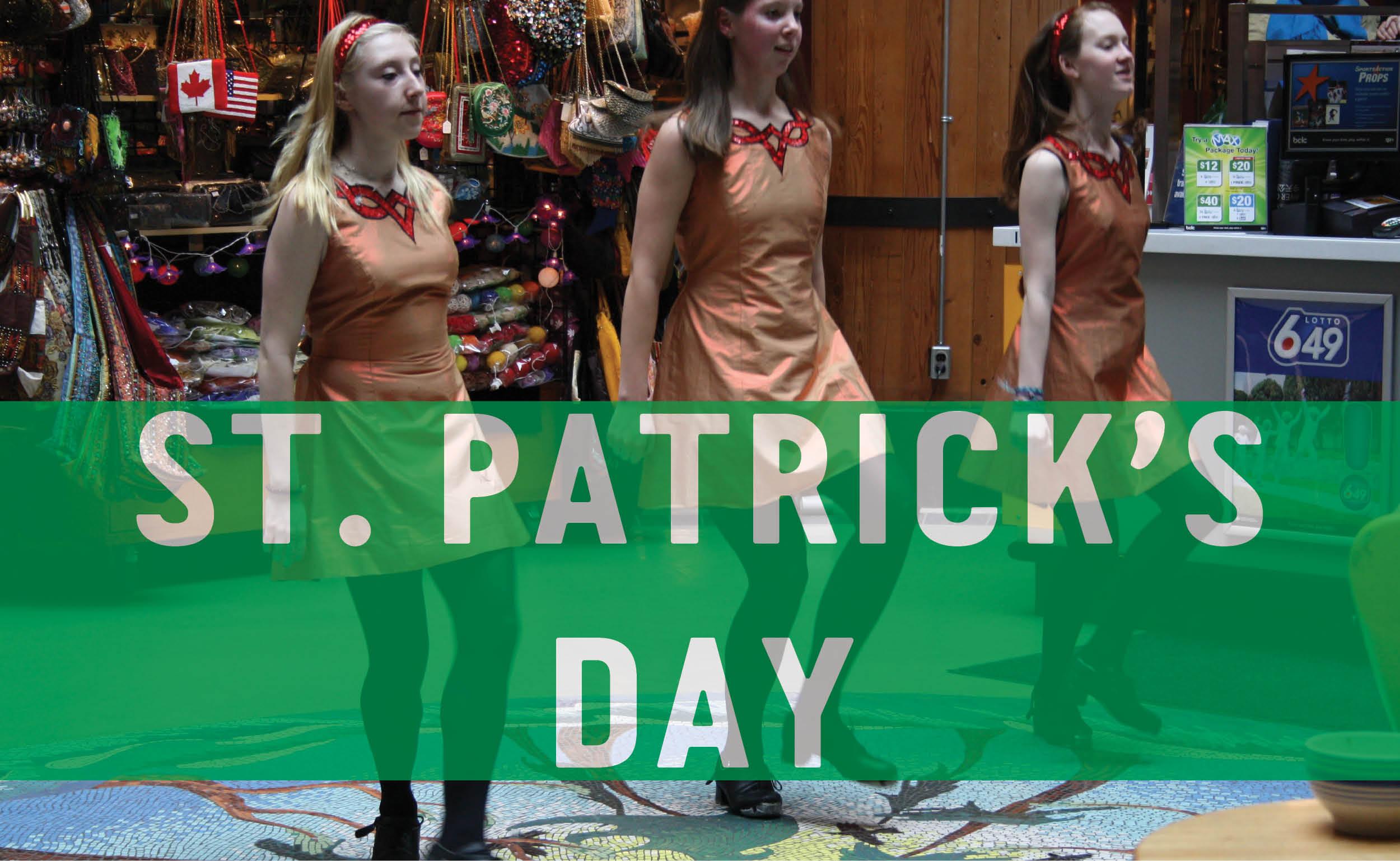 Celebrate St. Patrick's Day at Lonsdale Quay Market