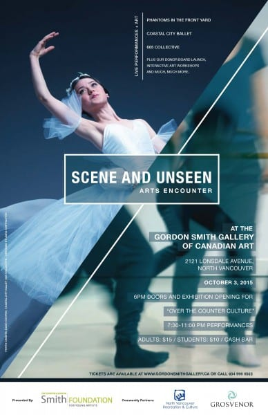 Scene and Unseen Arts Encounter at the Gordon Smith Gallery of Canadian Art