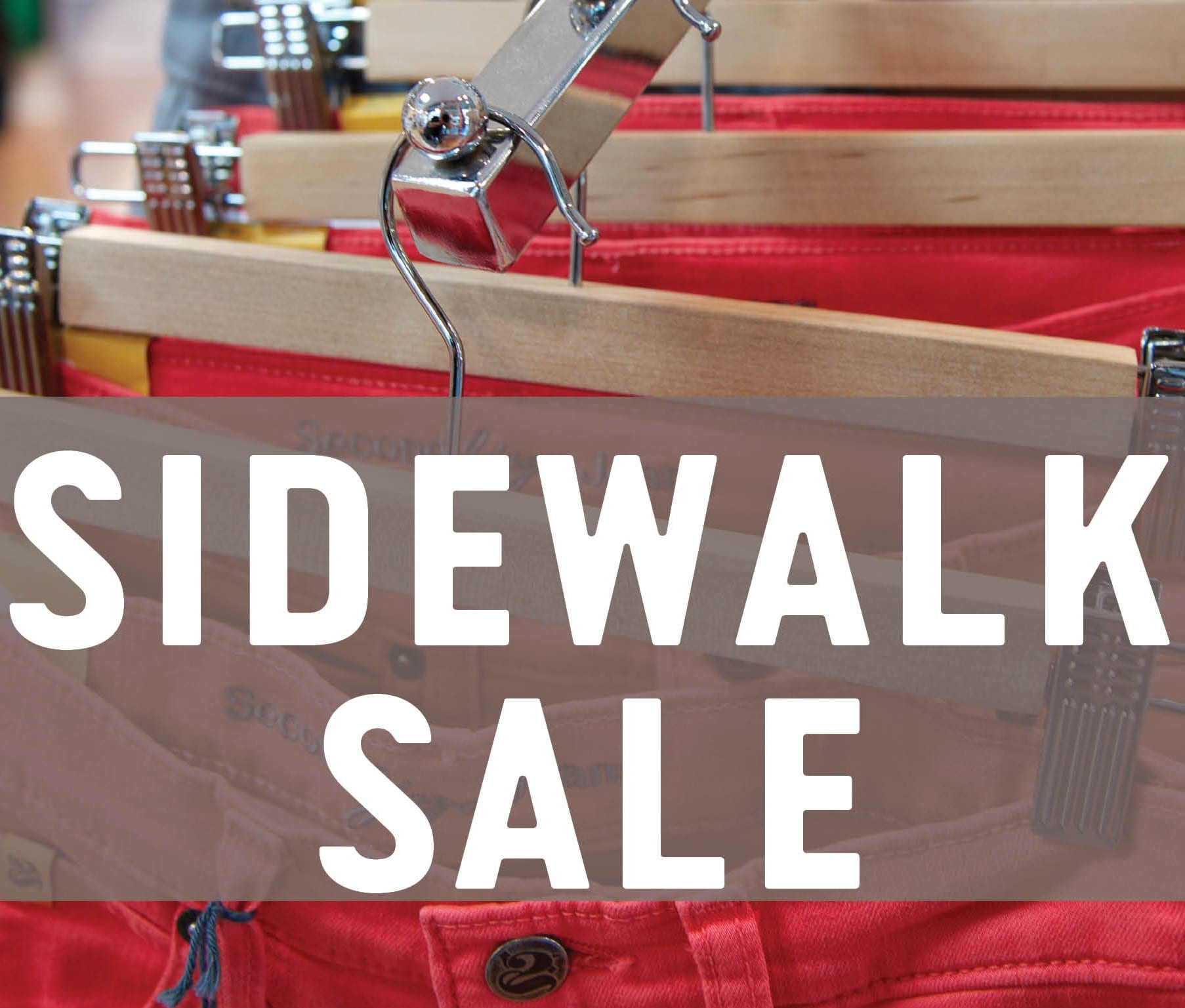 Sidewalk Sale at the Lonsdale Quay Market North Vancouver
