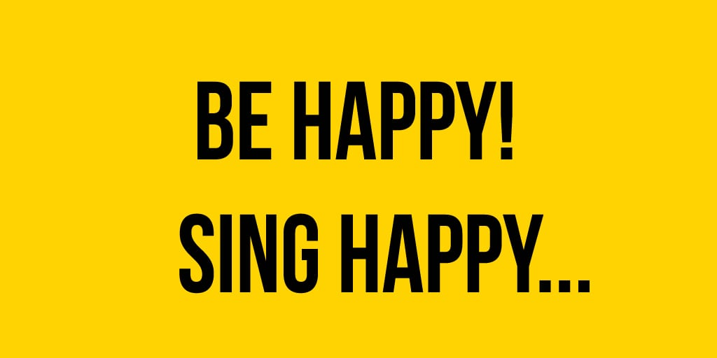 Be Happy! Sing Happy! Drop-in Rock Choir! at the Presentation House Theatre