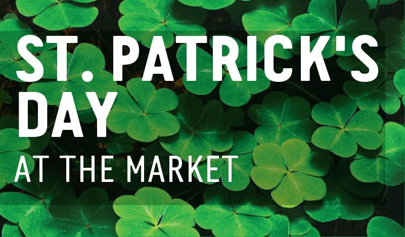 St. Patrick's Day at the Lonsdale Quay Market North Vancouver
