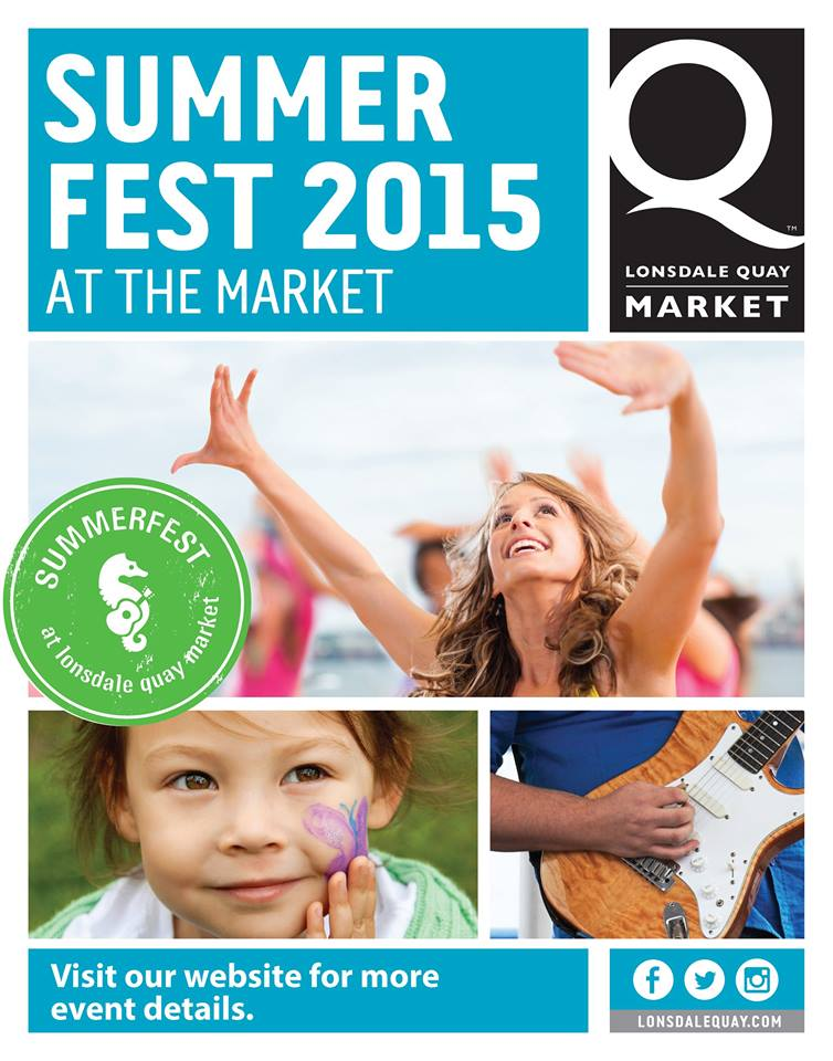 SummerFest 2015 at Lonsdale Quay Market's Outdoor Plaza