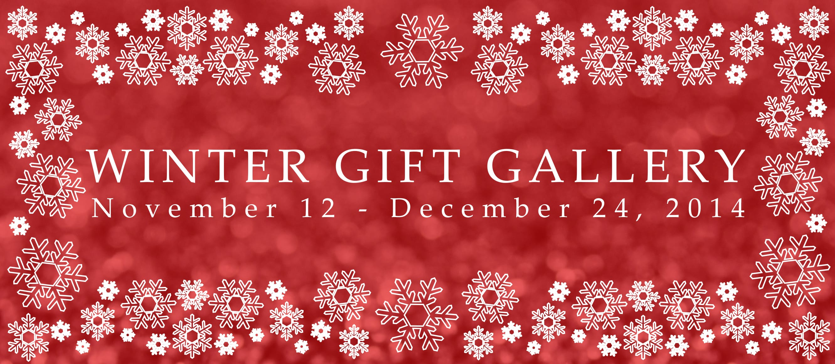 Winter Gift Gallery at the Seymour Art Gallery Deep Cove