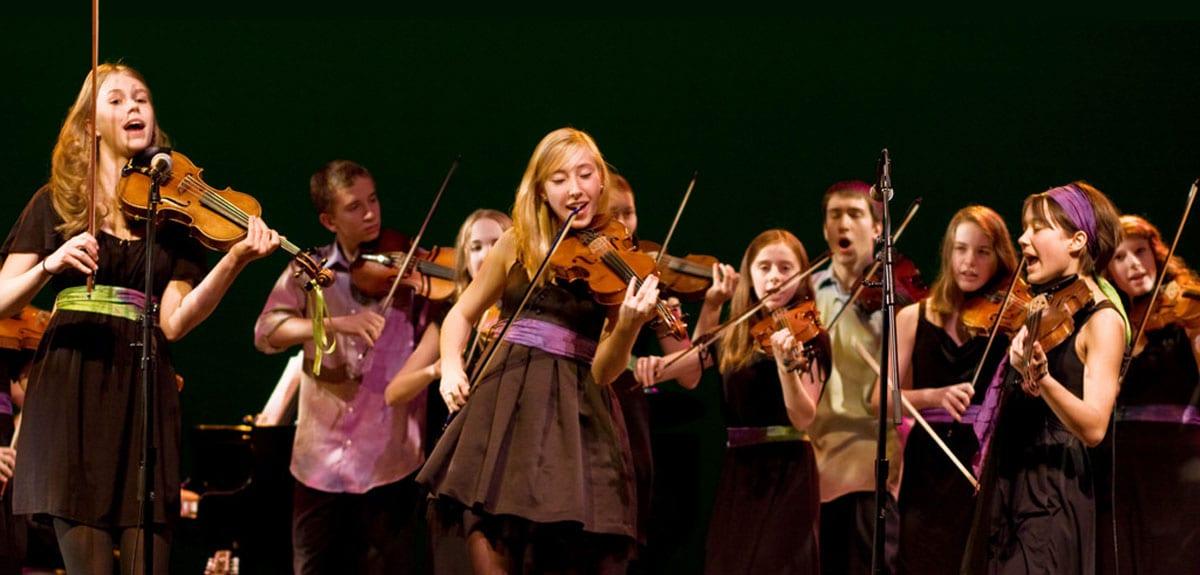 North Shore Celtic Ensemble Open House at the Upper Lynn Elementary School