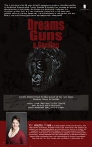 Dreams, Guns, & Gorillas Vancouver Book Launch
