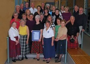 Scottish Country Dancing at the Kenneth Graham Maplewood School North Vancouver