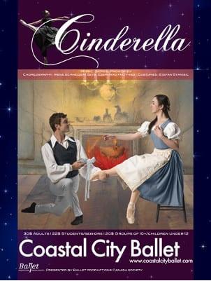 Coastal City Ballet's Cinderella at the Centennial Theatre