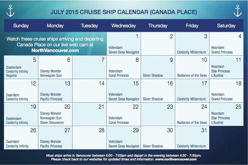 Vancouver Alaska Cruise Ship Guide