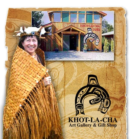 Shop and Enjoy a Salmon BBQ at Khot-La-Cha Art Gallery and Gift Shop North Vancouver