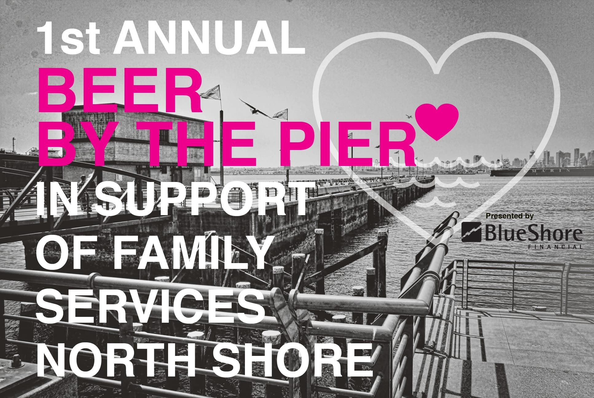 Beer by the Pier at the Pipe Shop North Vancouver