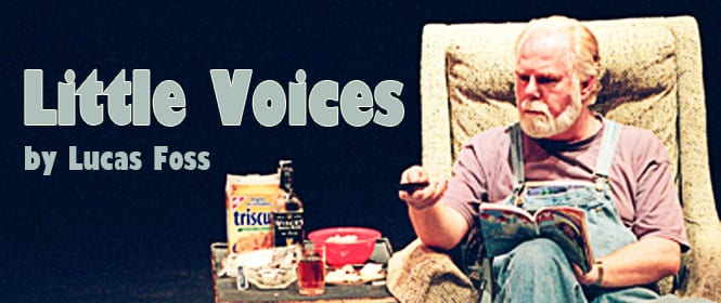 Little Voices at the Presentation House Theatre North Vancouver