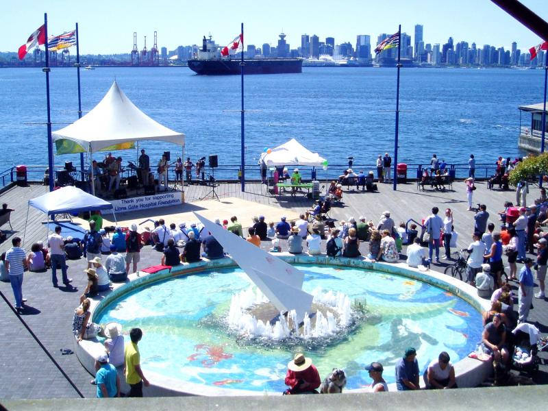 Sunday Concerts at Lonsdale Quay North Vancouver – Fairfield Music Showcase (Children music group)