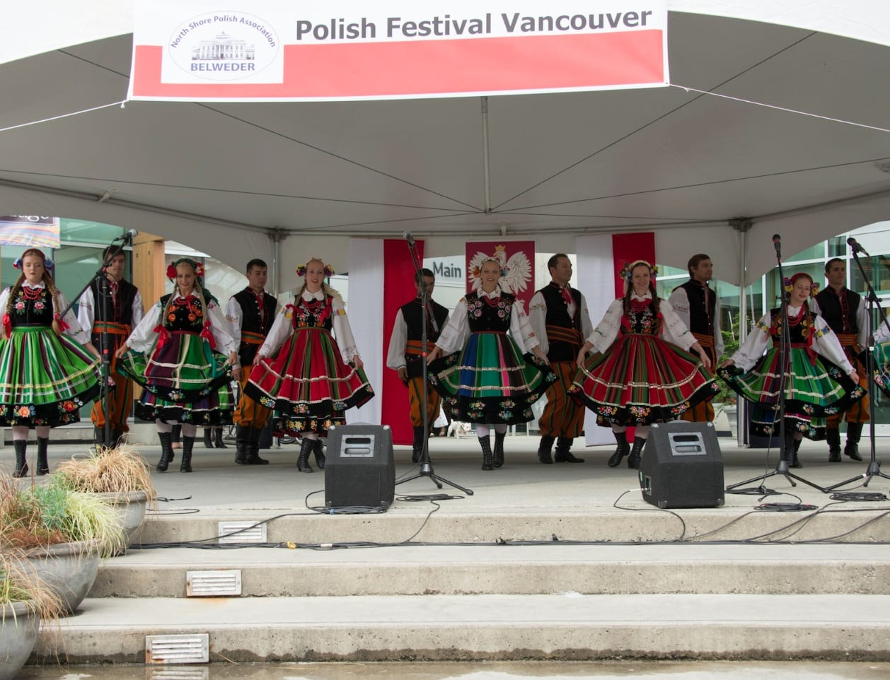 Celebrating Two Days of Polish Culture and Food in Lynn Valley Village North Vancouver