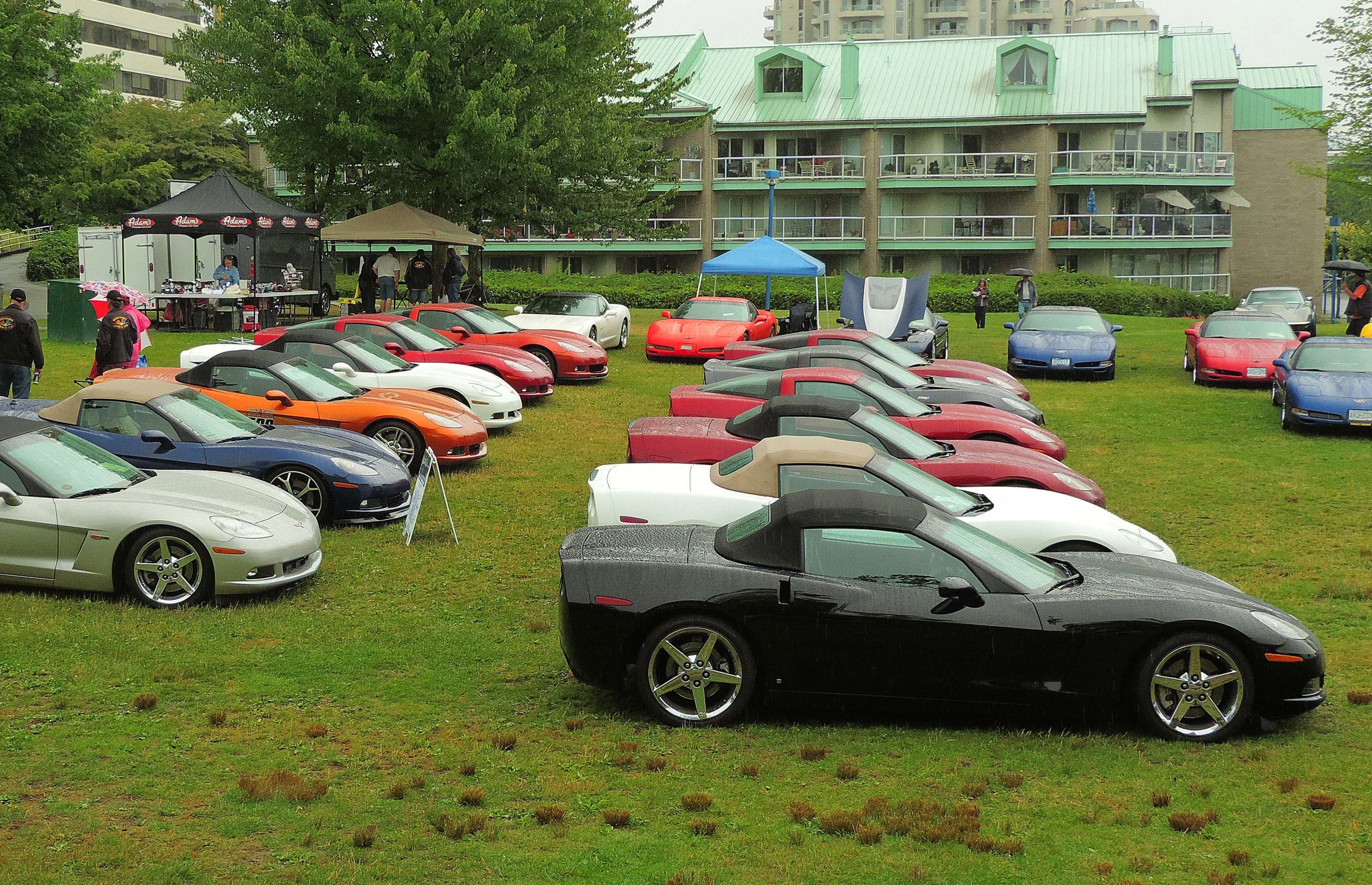 BC Corvette Club 25th Annual Waterfront Park Show and Shine