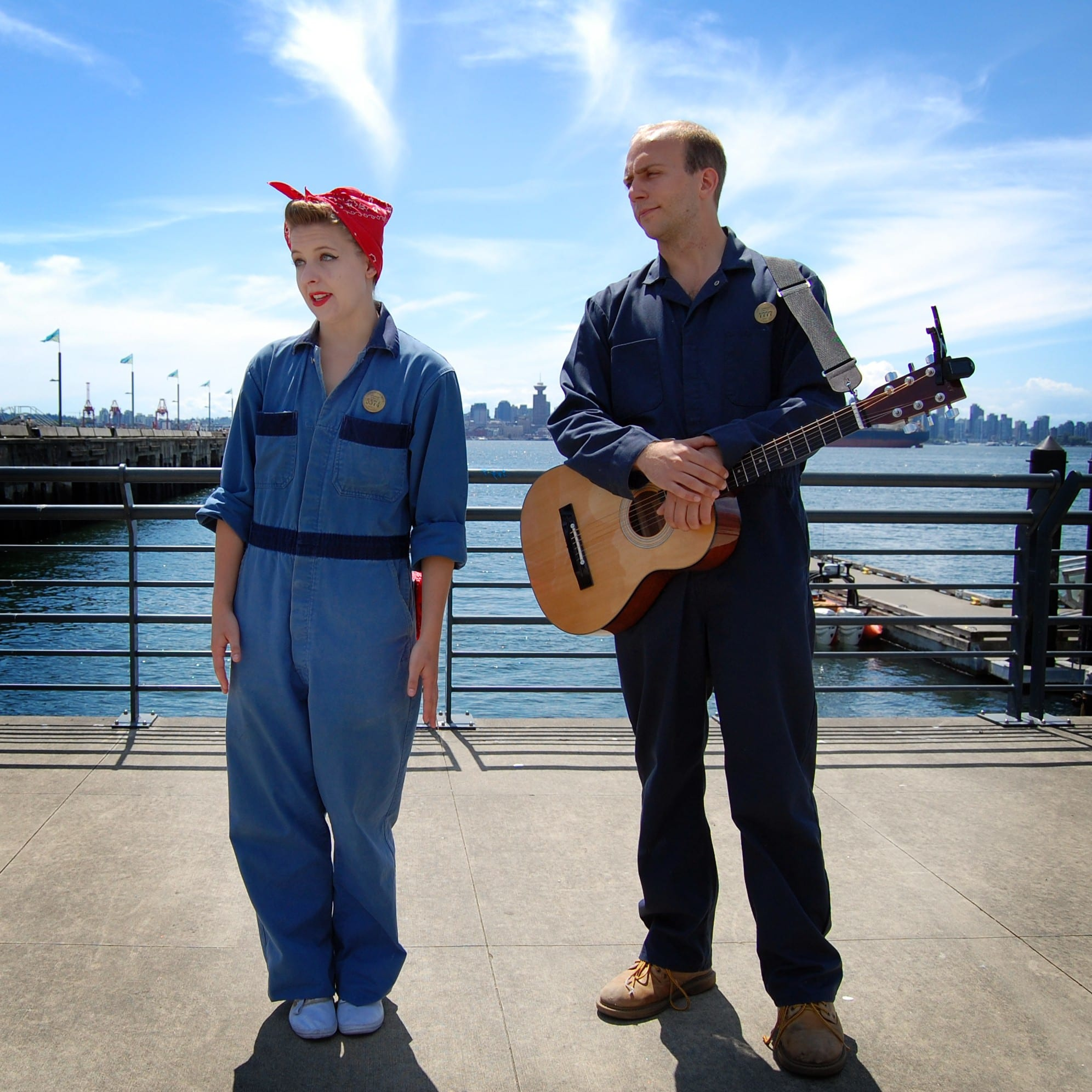 Join Shipyard Sam & Sal for Free Waterfront Tours this Summer